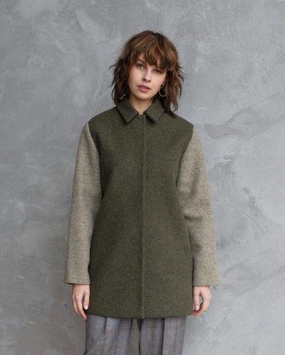 пальто в стиле милитари купить
