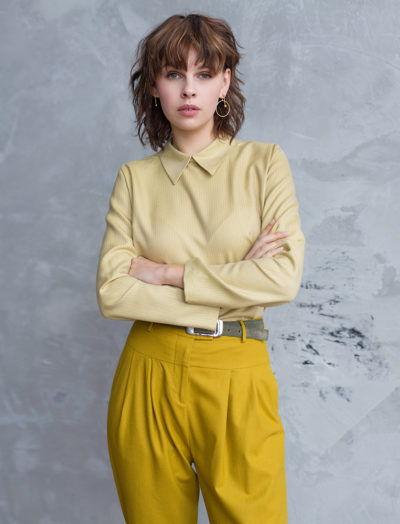 блузка из кашемира