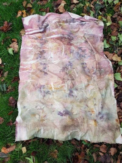 шарф из кашемира