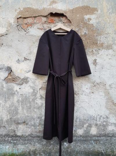 платье из шерсти зимнее платье