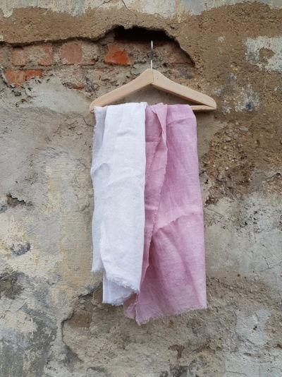 шарф из льна